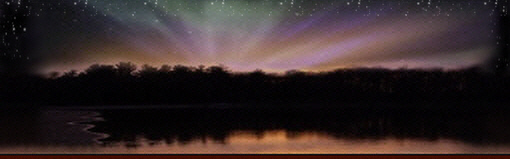 northern lights header graphic